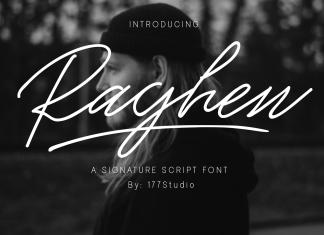 Raghen Script Font