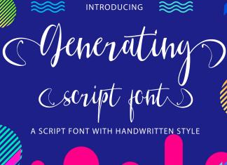 Generating Script Font