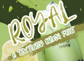 Royal Brush Font
