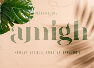 Amigh — Modern Serif Font