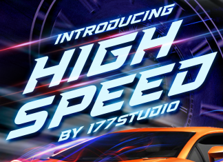 High Speed Font