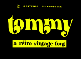 tommy – Retro Serif Font