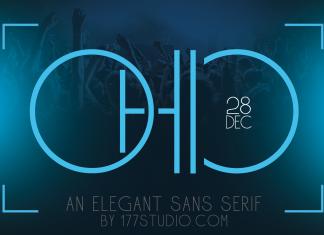 Ohio – Futuristic Sans Serif Font