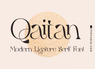 Qaitan – Modern Serif Font