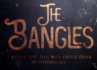 The Bangles – Vintage Sans Serif Font