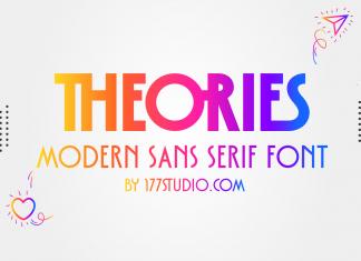 Theories – Modern Sans Serif Font