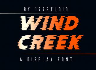 WIND CREEK Font