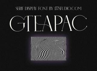 GTEAPAC FONT