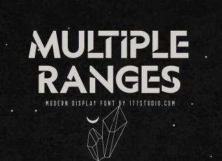 Multiple Ranges Font